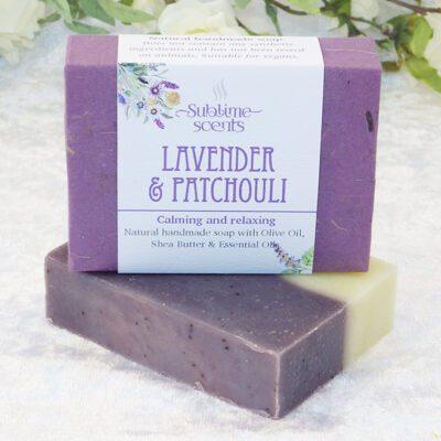 Patchouli & Lavender Soap