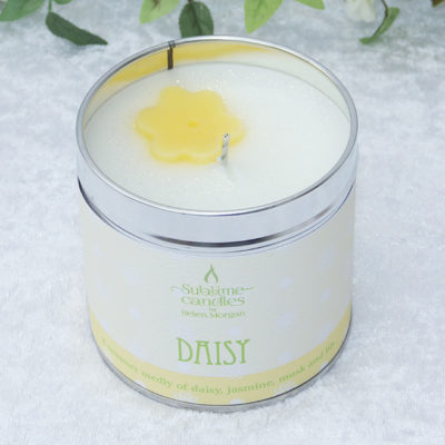 daisy candle