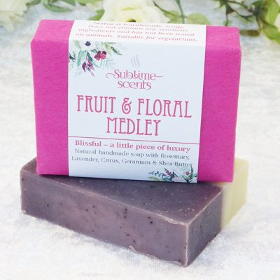 fruit & floral soap