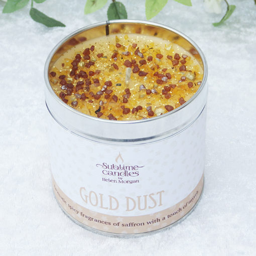 gold dust candle