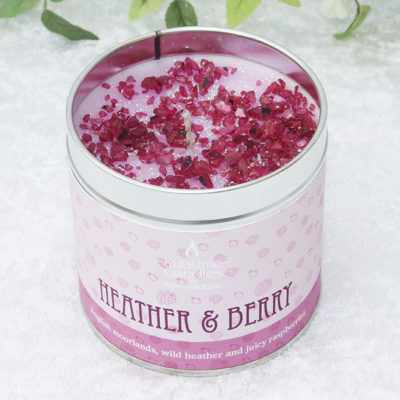 heather & berry candle