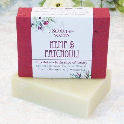 hemp & patchouli soap