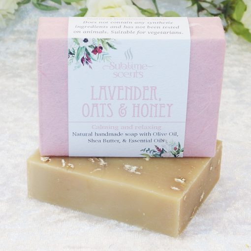lavender oats & honey soap
