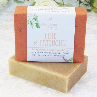 patchouli & lime soap
