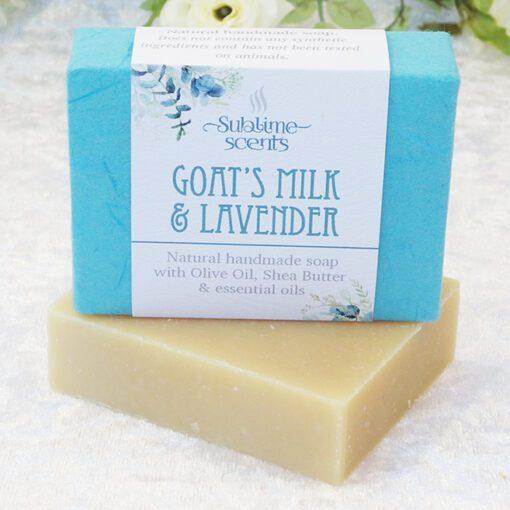 goats milk & lavender soap