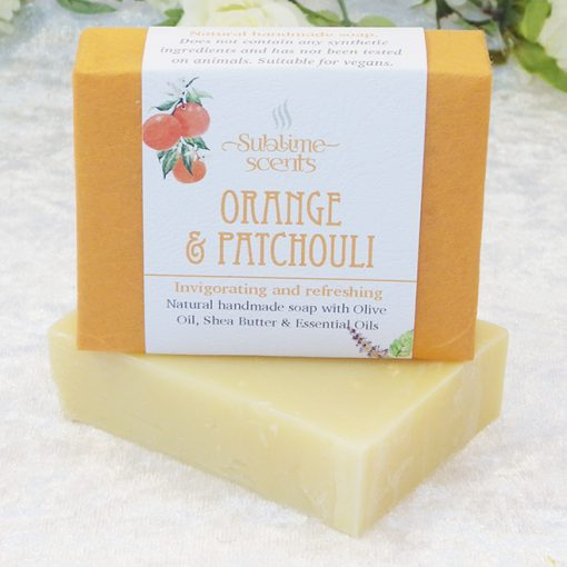 orange & patchouli soap