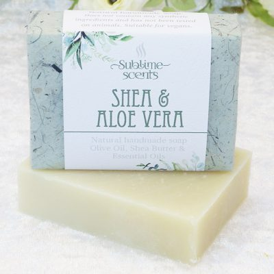 shea & aloe vera soap