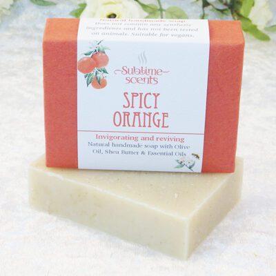 spicy orange soap