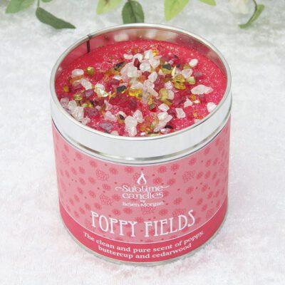 poppy fields candle