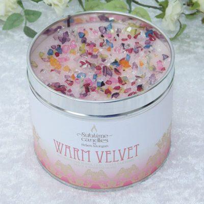 warm velvet candle