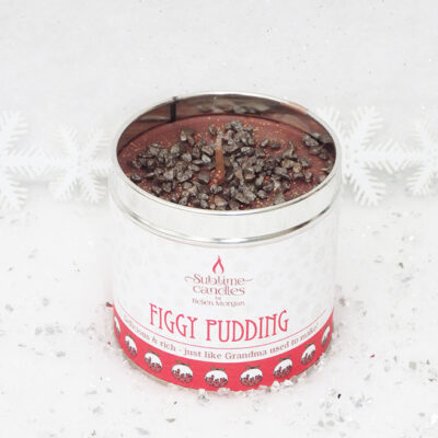 Figgy Pudding scented candle