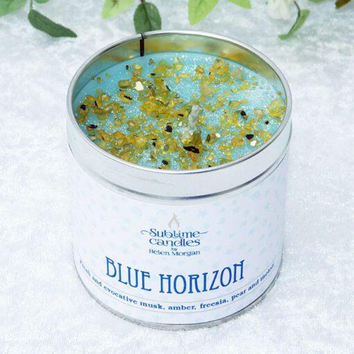blue horizon candle