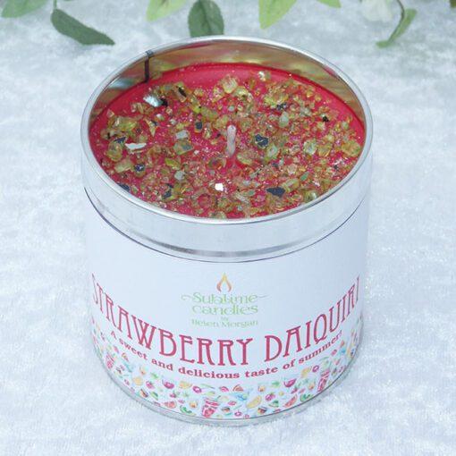 strawberry daiquiri candle