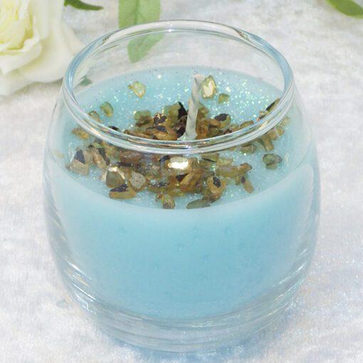 blue horizon votive candle